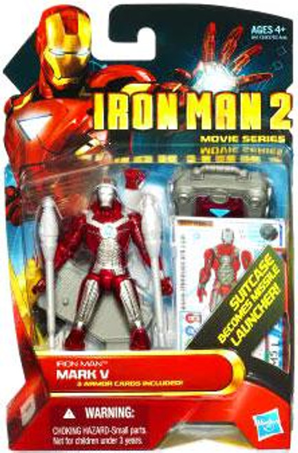 Iron Man 2 Movie Series Iron Man Mark V Action Figure #11