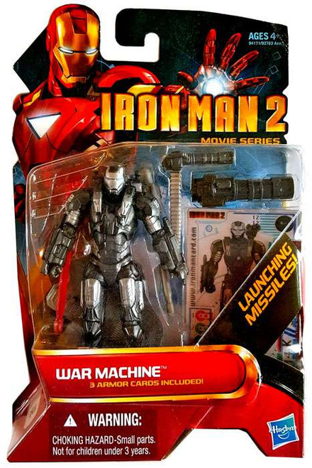 Iron Man 2 Movie Series War Machine Action Figure #12