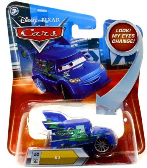 Disney / Pixar Cars Lenticular Eyes Series 2 DJ Diecast Car