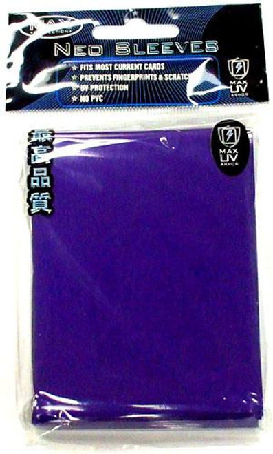 Card Supplies Neo Sleeves Flat Blue Standard Card Sleeves [50 Count]