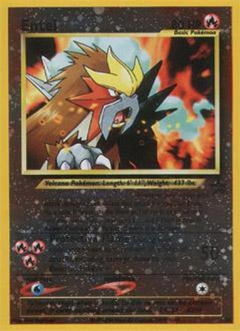 Pokemon Promo Cards WotC Promo Entei #34