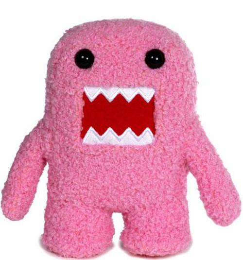 Pink Domo 5-Inch Plush Figure