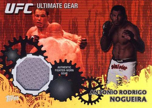 Topps UFC 2010 Championship Ultimate Gear Relic Antonio Rodrigo Nogueira UG-AN [Gray]