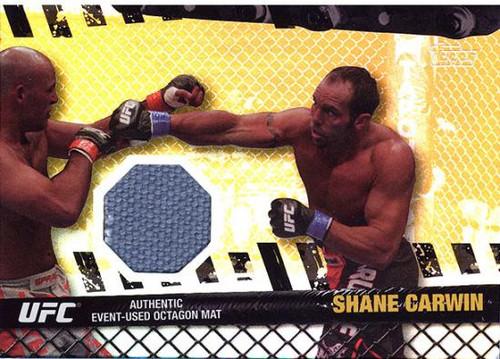 Topps UFC 2010 Championship Fight Mat Relic Shane Carwin FM-SC [Gray]