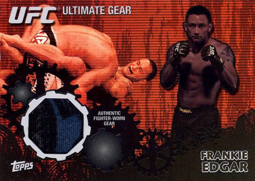 Topps UFC 2010 Championship Ultimate Gear Relic Frankie Edgar UG-FE [Black & Blue]