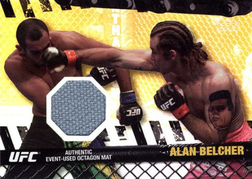 Topps UFC 2010 Championship Fight Mat Relic Alan Belcher FM-AB [Gray]