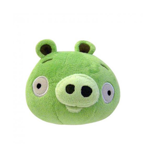 Angry Birds Neutral Pig 5-Inch Plush [With Sound]