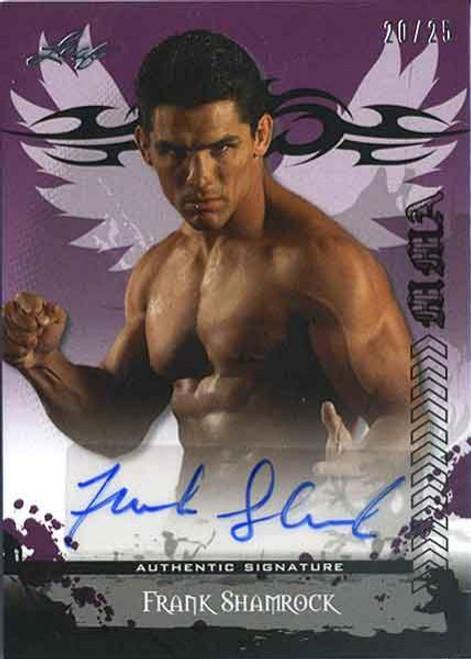 MMA Series 2010 Frank Shamrock Autograph Card AV-FS2 [20/25]