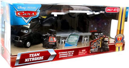 Disney / Pixar Cars Multi-Packs Team Nitroade Exclusive Diecast Car Set