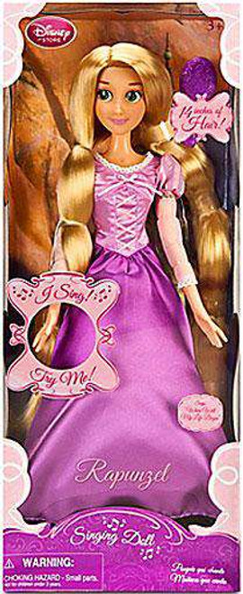 Disney Tangled Rapunzel Exclusive 17-Inch Singing Doll [14 Inches of Hair]
