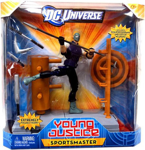 DC Universe Young Justice 6 Inch Sportsmaster Action Figure