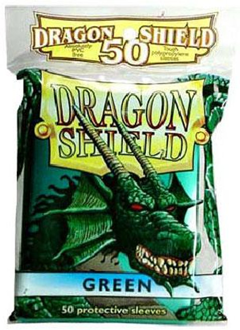 Card Supplies Dragon Shield Green Standard Card Sleeves [50 Count]