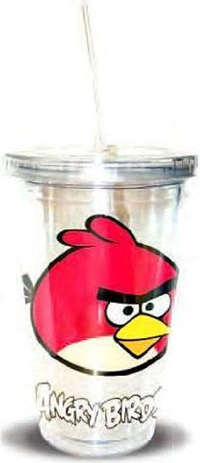 Angry Birds Red Bird 16 Ounce Tumbler