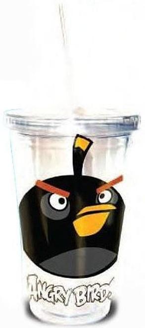 Angry Birds Black Bird 16 Ounce Tumbler