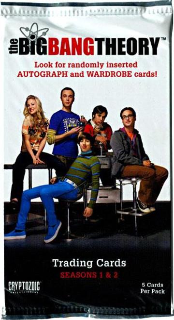 The Big Bang Theory Seasons 1 & 2 Trading Card Pack