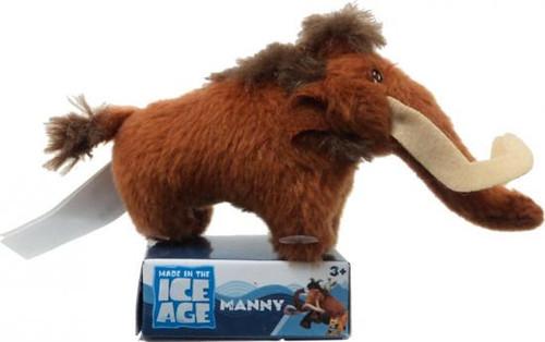 Ice Age Continental Drift Manny 2-Inch Plush