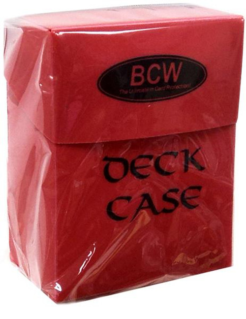 Card Supplies Red Deck Case