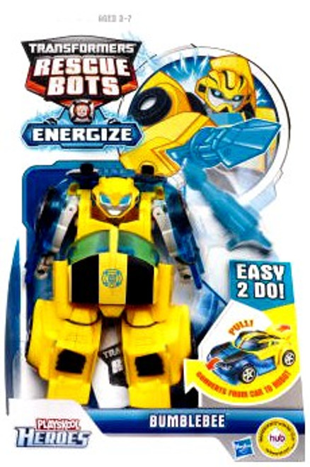 Transformers Playskool Heroes Rescue Bots Bumblebee Action Figure [Energize]