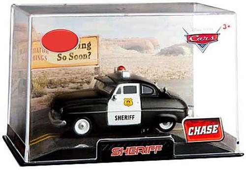 Disney / Pixar Cars 1:43 Collectors Case Sheriff Exclusive Diecast Car