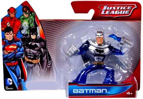 Justice League Batman Exclusive Action Figure [Silver & Blue]