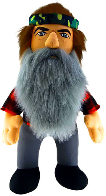 Duck Dynasty Phil 13-Inch Plush Figure [With Sound]