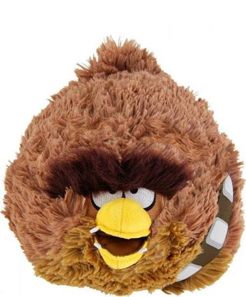 Star Wars Angry Birds Chewbacca Bird 8-Inch Plush [With Sound]