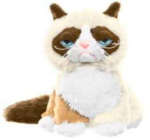 Grumpy Cat 5-Inch Plush [Sitting Up]