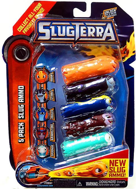 Slugterra Blaster & Evo Dart Slug Ammo 5-Pack Exclusive [Burpy, Stinky, Joules, Spooker & Grimmstone]