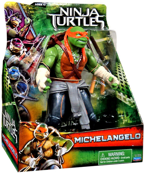 Teenage Mutant Ninja Turtles 2014 Movie 11 Inch Michelangelo Action Figure