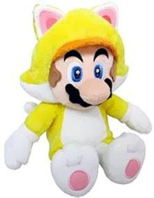 Super Mario 3D World Mario 12-Inch Plush [Cat]