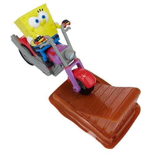 Spongebob Squarepants Rev-Up Chopper Playset [Loose]