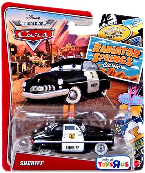Disney / Pixar Cars The World of Cars Radiator Springs Classic Sheriff Exclusive Diecast Car