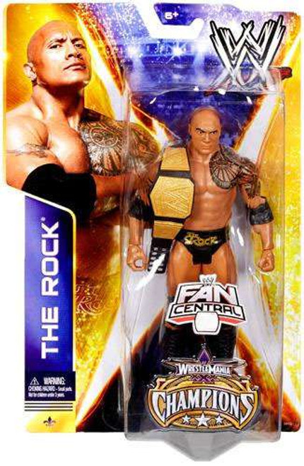 WWE Wrestling Series 36 The Rock Exclusive Action Figure