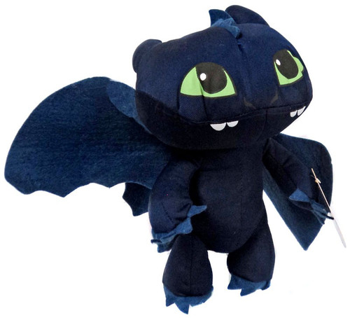 How to Train Your Dragon 2 Toothless 10-Inch Plush Figure