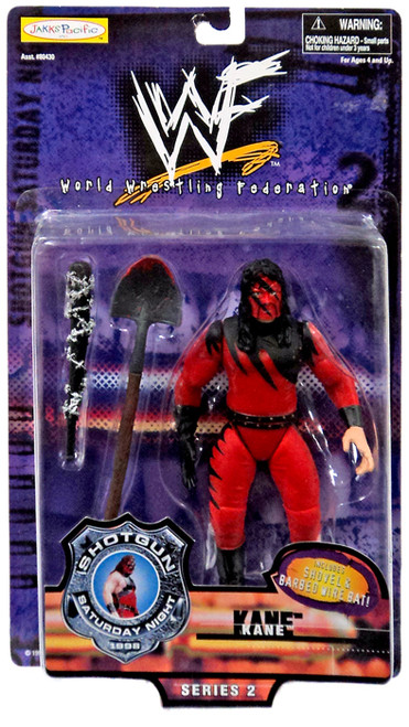 WWE Wrestling Shotgun Saturday Night Series 2 Kane Action Figure