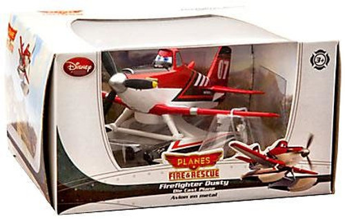Disney Planes Fire & Rescue Firefighter Dusty Exclusive Diecast Plane