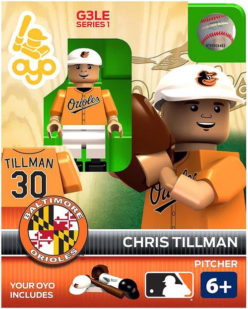 Baltimore Orioles MLB Generation 3 Chris Tillman Minifigure