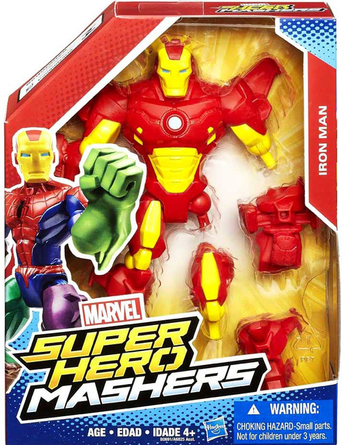Marvel Super Hero Mashers Iron Man Action Figure [Red Armor]