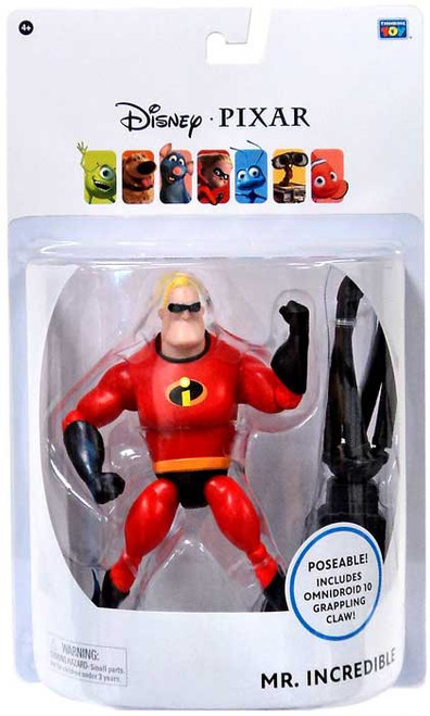 Disney / Pixar Incredibles Mr. Incredible Action Figure [6 Inch]