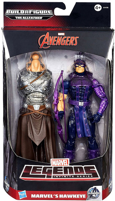 Avengers Marvel Legends Allfather Series Hawkeye Action Figure