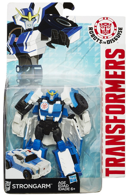 Transformers Robots in Disguise Strongarm Warrior Action Figure