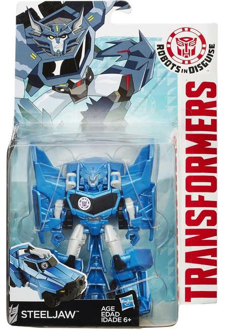Transformers Robots in Disguise Steeljaw Warrior Action Figure