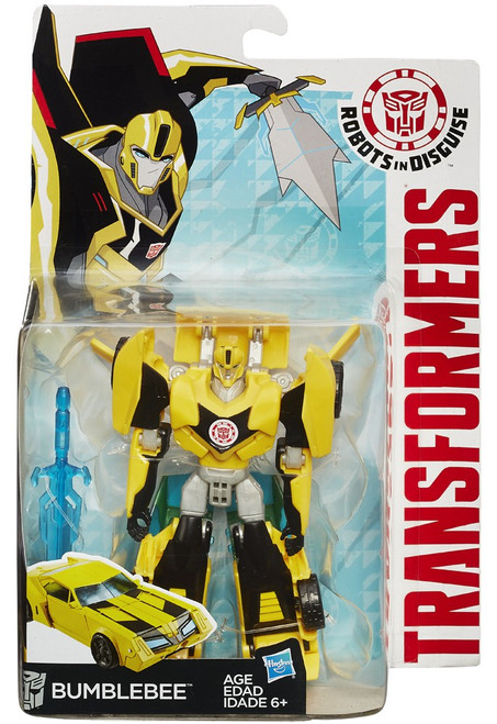 Transformers Robots in Disguise Bumblebee Warrior Action Figure
