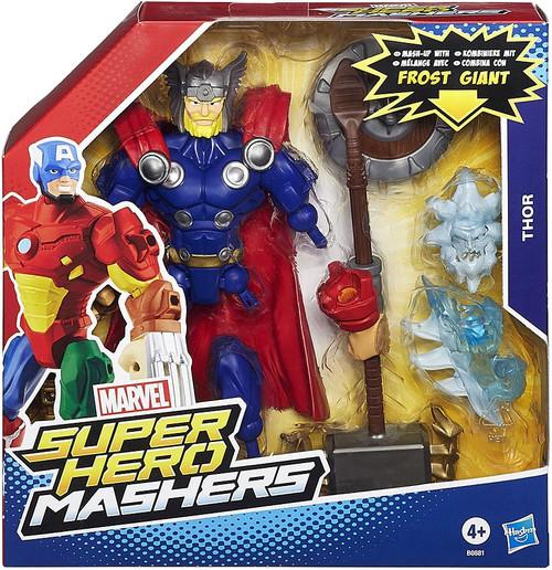 Marvel Super Hero Mashers Battle Upgrade Thor Action Figure [Frost Giant]