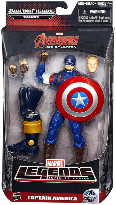 Marvel Legends Avengers Thanos Series Captain America Action Figure