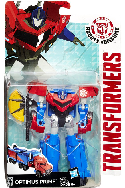 Transformers Robots in Disguise Optimus Prime Warrior Action Figure