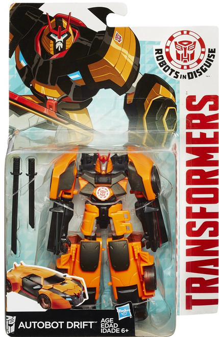 Transformers Robots in Disguise Autobot Drift Warrior Action Figure
