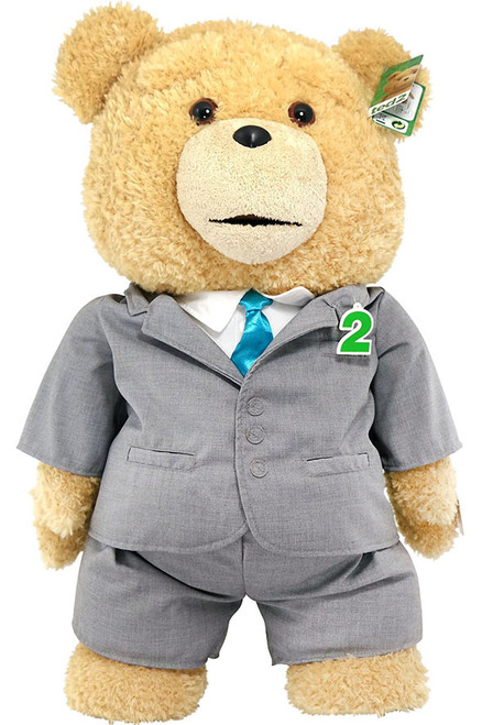 Ted 2 Ted in Suit 24-Inch Talking Plush [Explicit]