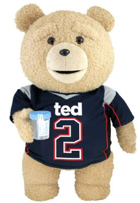 Ted 2 Ted in Jersey 24-Inch Talking Plush [Explicit]