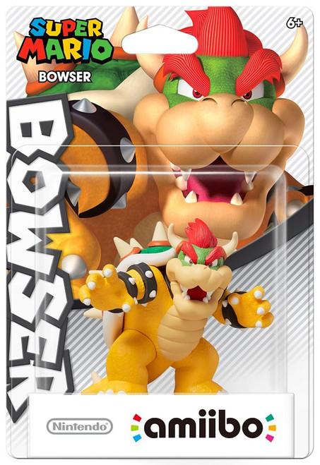 Nintendo Super Mario Amiibo Bowser Mini Figure